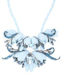 EK Thongprasert - Blue Ikebanana Flower Silicone Necklace - Lyst