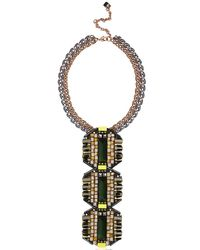 Nocturne | Green Dimas Natural Necklace | Lyst