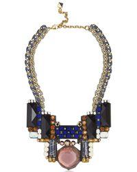 Nocturne - Blue Bruna Necklace - Lyst