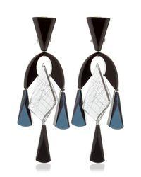 Silvia Rossi Blue Ballet Earrings