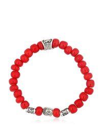 Cantini Mc Firenze | Buddha Red Bracelet | Lyst