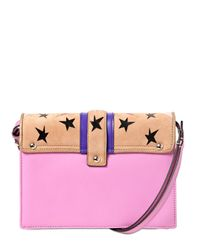 Paula Cademartori - Pink Tatiana Leather Shoulder Bag - Lyst