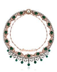 Mawi - Green Rebel Royal Necklace - Lyst