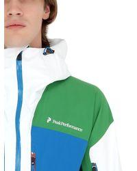 Peak Performance - Green Heli Gravity Gore-tex Ski Jacket for Men - Lyst