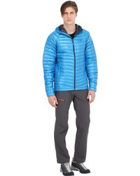 Mountain Hardwear - Blue Ghost Whisperer Hooded Down Jacket for Men - Lyst