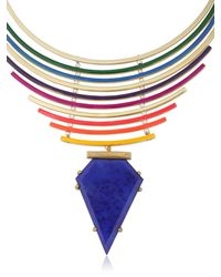Gemma Redux | Multicolor Color Bleed Necklace | Lyst