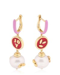 Bea Bongiasca | Metallic Joy Rice Earrings | Lyst