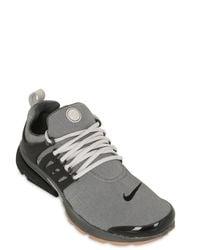 Nike - Gray Air Presto Premium Fleece Sneakers for Men - Lyst