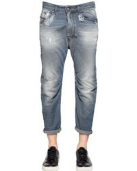 DIESEL | Blue 18cm Narrot Viscose Blend Denim Jeans for Men | Lyst