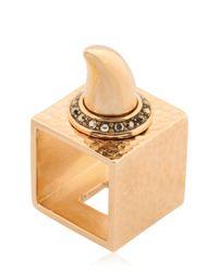 Schield | Metallic Charms Bunga Bunga Ring | Lyst
