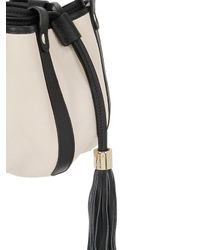 See By Chloé | White Vicki Grained Leather Bucket Bag | Lyst