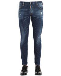 DSquared²   Blue 17cm M.buble Stretch Denim Jeans for Men   Lyst