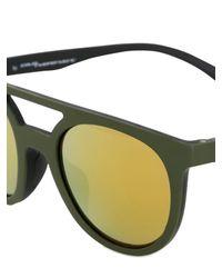 Adidas Originals - Black Rounded Acetate Sunglasses for Men - Lyst