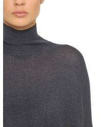 Gentry Portofino - Blue Cashmere Gauze Sweater - Lyst