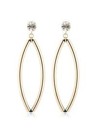 Anton Heunis - Metallic Opulent Minimalism Earrings - Lyst