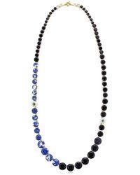 Les Nereides   Blue La Diamantine Speciale Necklace   Lyst