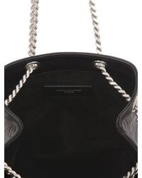 Saint Laurent - Black Baby Bucket Embossed Leather Bag - Lyst