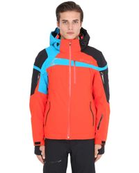 Spyder | Blue Titan Nylon Ski Jacket for Men | Lyst