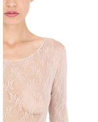 Pierre Mantoux - Multicolor Lace Bodysuit - Lyst