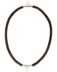 Betony Vernon - Black Noble Rope Choker For Lvr - Lyst
