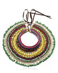 Anita Quansah London   Green Safi Necklace   Lyst