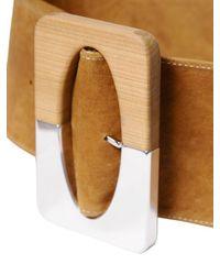 Nehera | Natural Handmade Leather Belt | Lyst