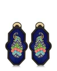 Anna E Alex | Blue Brasile Earrings | Lyst