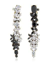 Iosselliani | Black Optical Memento Swarovski Earrings | Lyst