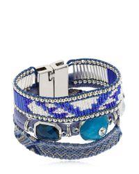 Hipanema | Blue Wisteria Bracelet | Lyst