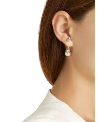 Apm Monaco - Metallic Silver Mono Earring - Lyst