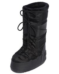 Moncler Grenoble - Black Moon Boot Tall Snow Boots for Men - Lyst