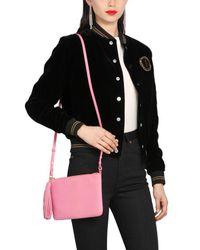 Saint Laurent - Pink Teen Monogram Leather Shoulder Bag - Lyst