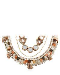 Deepa Gurnani - Metallic Seraphina Necklace - Lyst