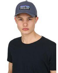 Patagonia - Blue P-6 Logo Organic Cotton Hat for Men - Lyst