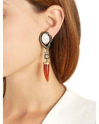 Iosselliani - Multicolor Colors Of Burma Clip-on Earrings - Lyst