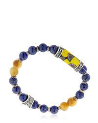 Cantini Mc Firenze - Blue Murrina Lapis Lazuli Bracelet - Lyst