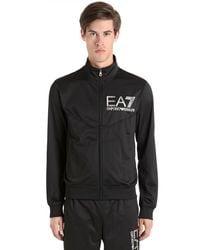 EA7 - Black Train Visibility Acetate Tracksuit for Men - Lyst