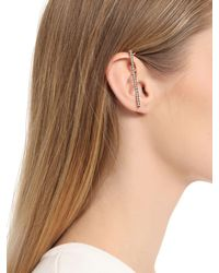 Kim Mee Hye - Metallic Foyer Line Total Crystals Mono Ear Cuff - Lyst
