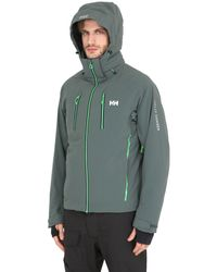 Helly Hansen - Multicolor Alpha 2.0 Nylon Stretch Ski Jacket for Men - Lyst
