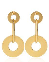 Marni - Metallic Wheels Earrings - Lyst