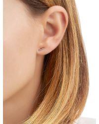 EF Collection - Multicolor Bar Diamond Stud Earrings - Lyst
