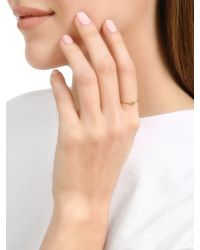 Delfina Delettrez - Metallic Micro Eye Ring - Lyst