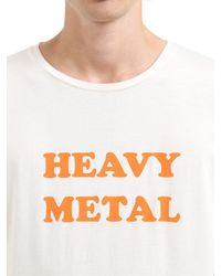 April77 - White Ceremony Heavy Metal Jersey T-shirt for Men - Lyst