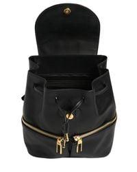 Ferragamo - Black Jam Groove Leather Backpack - Lyst
