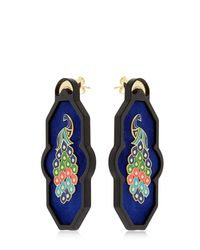 Anna E Alex - Blue Brasile Earrings - Lyst