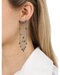 FEDERICA TOSI - Black Big Rain Earrings - Lyst
