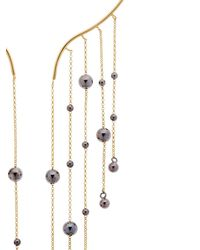 FEDERICA TOSI - Metallic Hanging Balls Silver Necklace - Lyst
