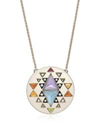 Noor Fares - Metallic Large Indri Gold Necklace - Lyst