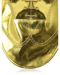 Maison Margiela - Metallic Plastron Oxford Necklace - Lyst