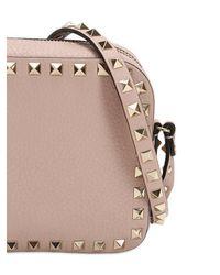 Valentino - Multicolor Rockstud Leather Camera Bag - Lyst